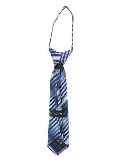 Bay Şapkacı Kravat Mavi